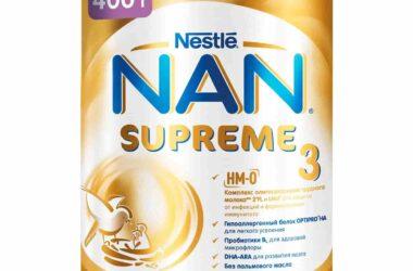 Детское молочко Нан Supreme 3 с 12 месяцев, 400 г