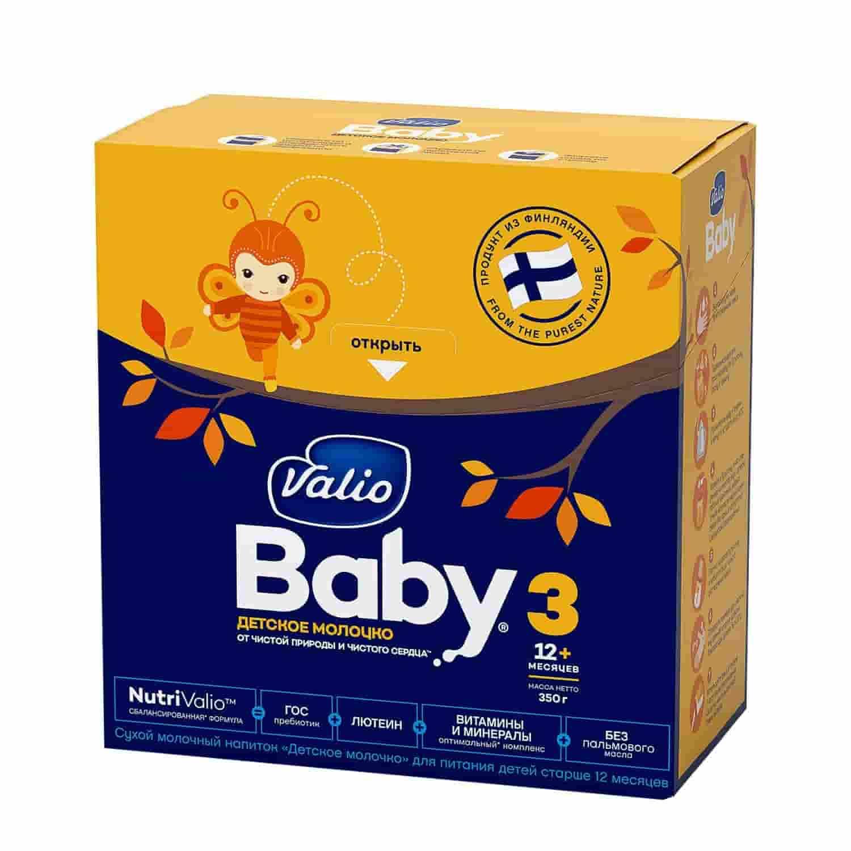 Детское молочко Valio Baby 3 с 12 месяцев, 350 г