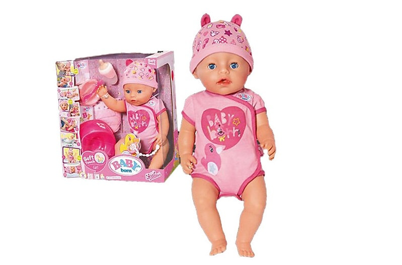 Интерактивная кукла Zapf Creation Baby born Девочка, 43 см