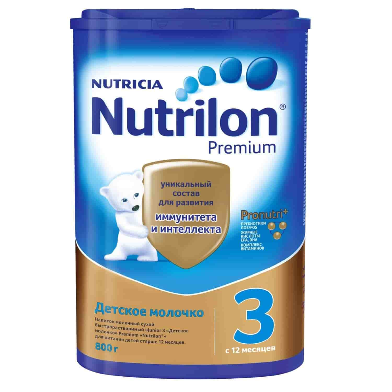 Молочко детское Nutrilon PronutriPlus 3 с 12 месяцев, 800 г