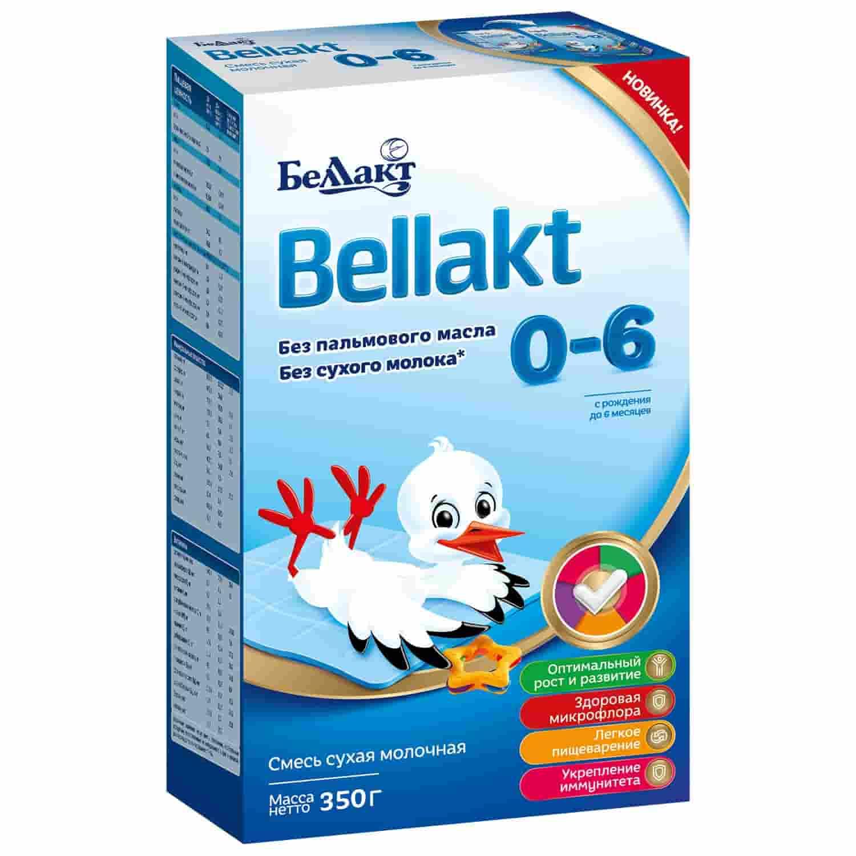 Молочная смесь Беллакт 0-6 месяцев, 350 г