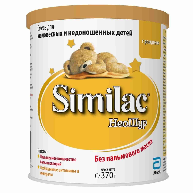 Молочная смесь Симилак НеоШур для недоношенных детей 0-12 месяцев, 370 г