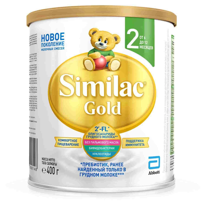 Молочная смесь Симилак Gold 2 6-12 месяцев, 400 г
