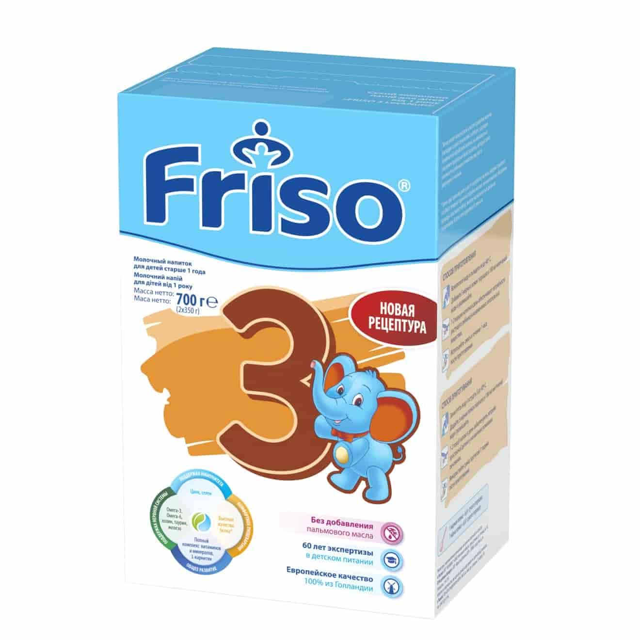 Молочная смесь Фрисо LockNutri 3 с 12 месяцев, 700 г