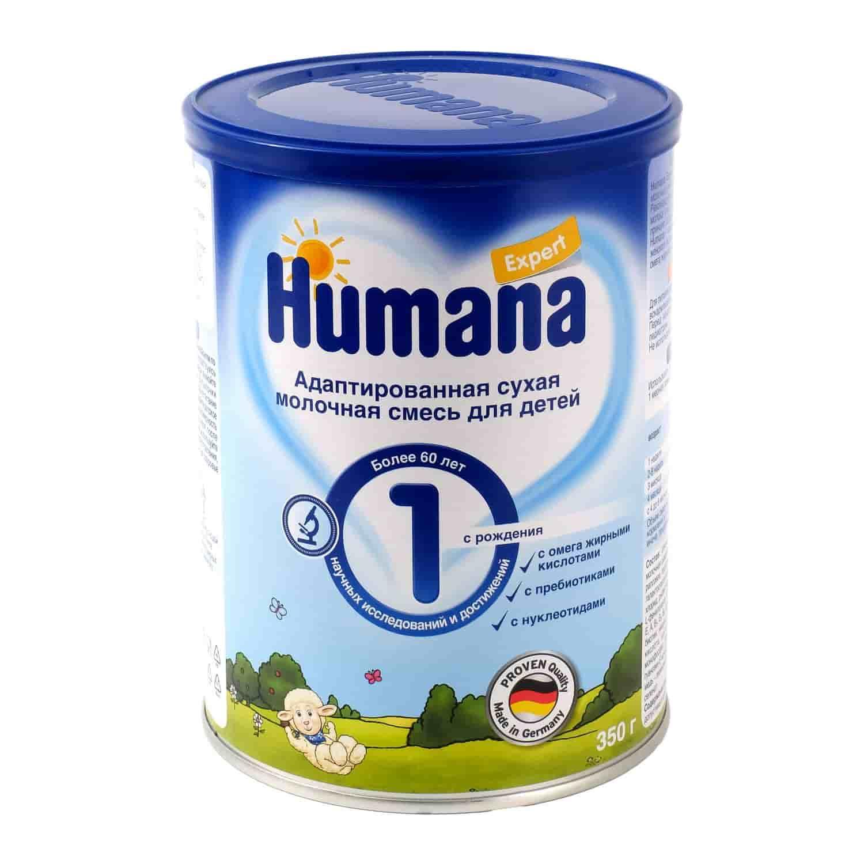 Молочная смесь Хумана Expert 1 0-6 месяцев, 350 г