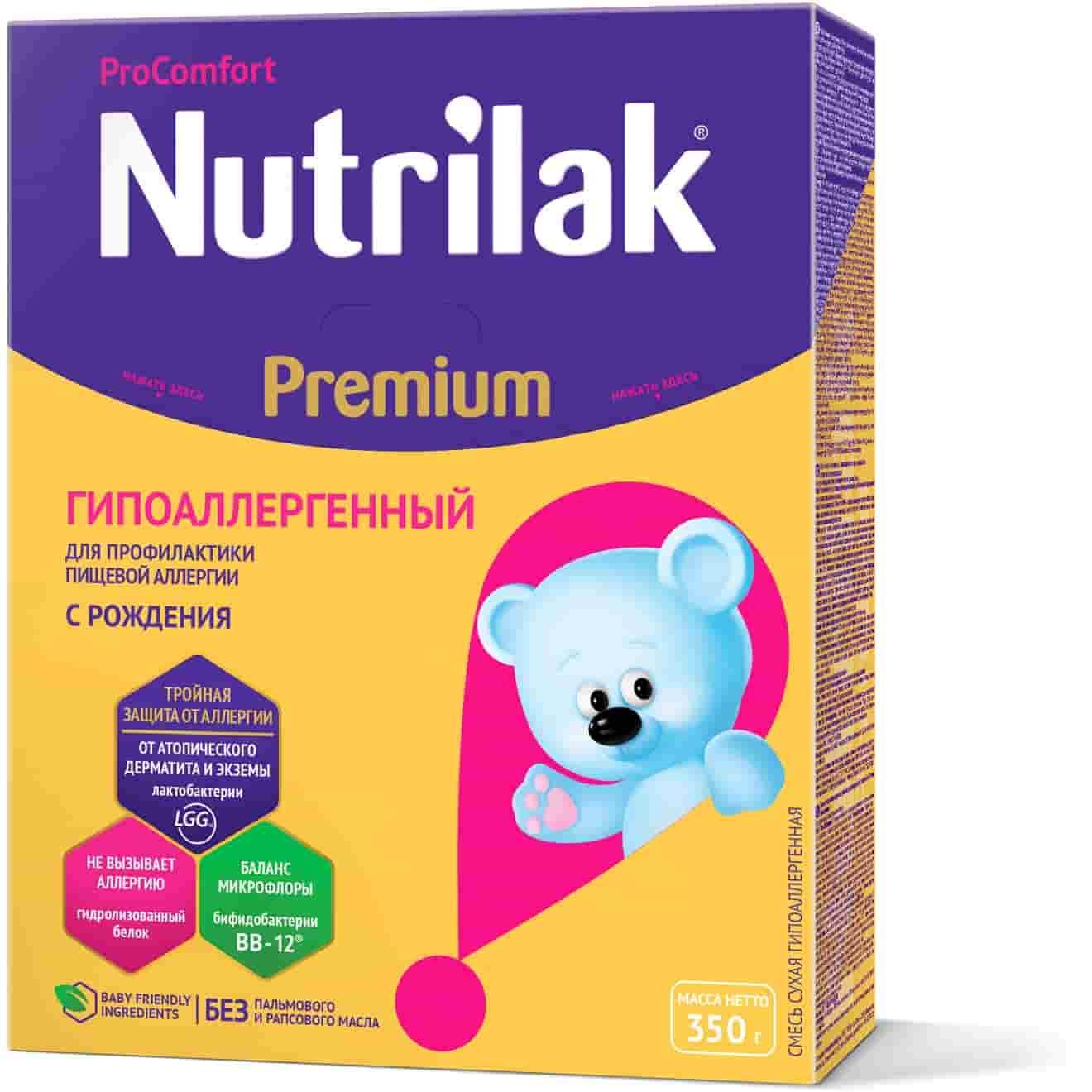 Молочная смесь Nutrilak Premium ГА ProComfort ГА С 0 месяцев, 350 г