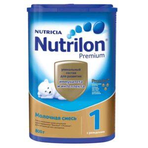 Молочная смесь Nutrilon PronutriPlus 1 0-6 месяцев, 800 г