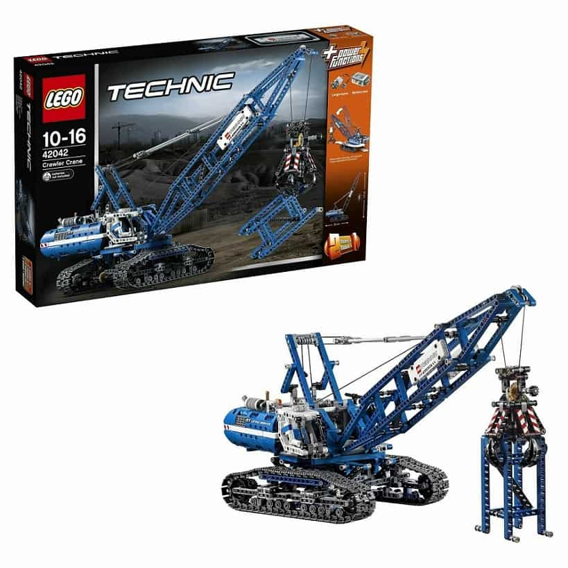 LEGO Technic Гусеничный кран