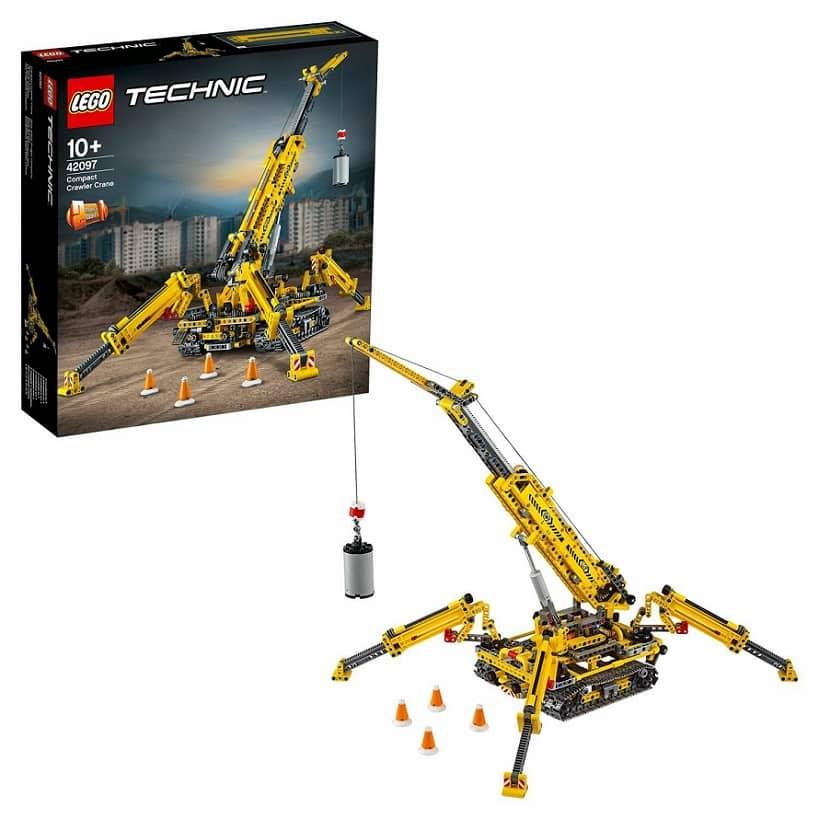 LEGO Technic Компактный гусеничный кран