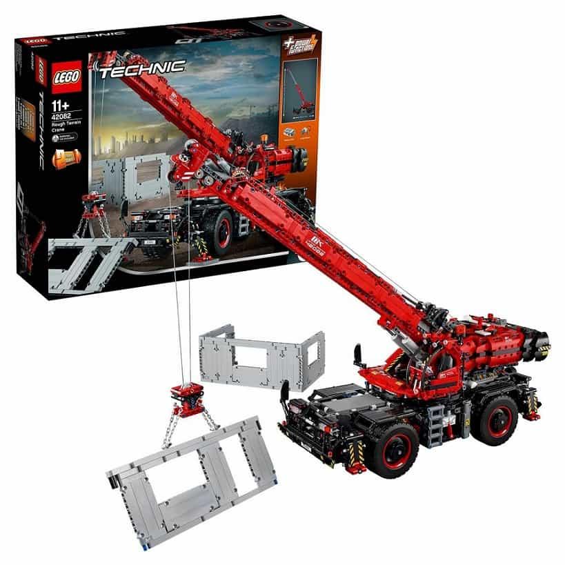 LEGO Technic Подъёмный кран для пересечённой местности