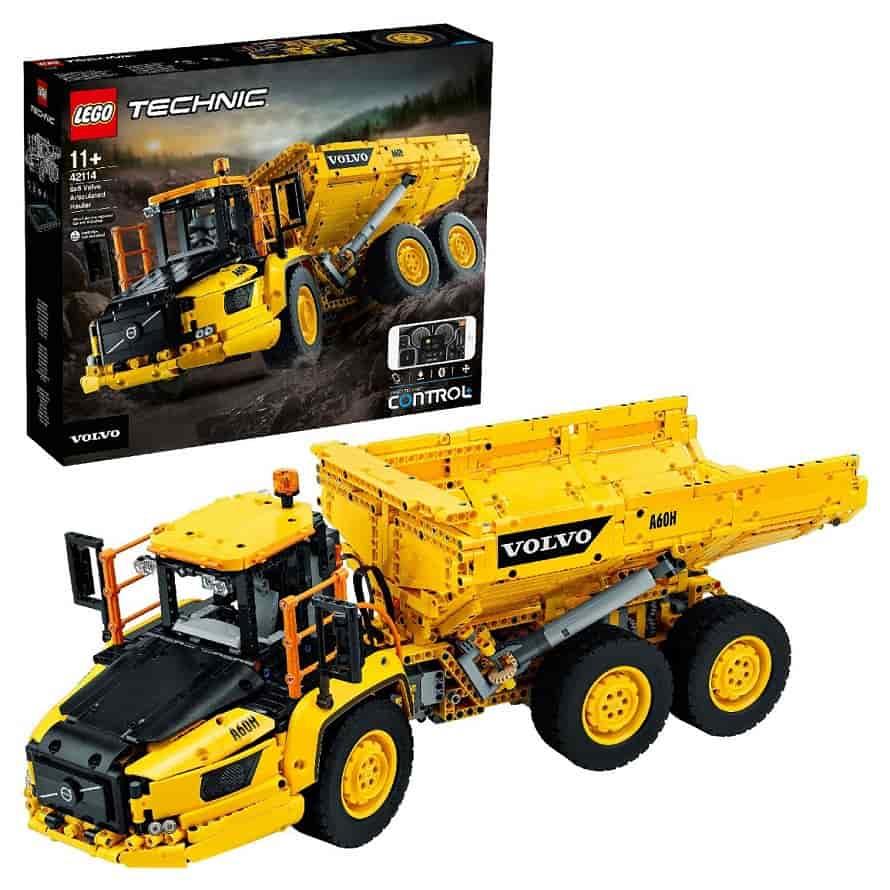 LEGO Technic Самосвал Volvo 6Х6