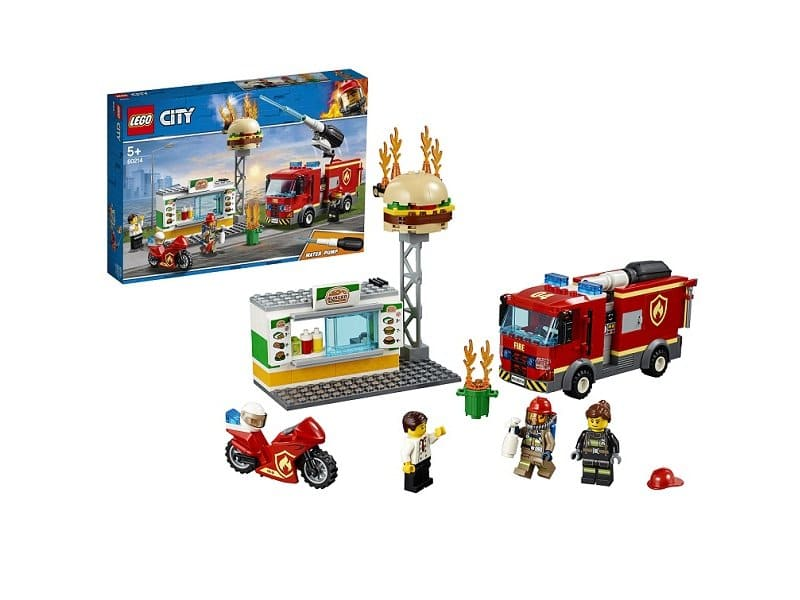 Lego City Пожар в бургер-кафе