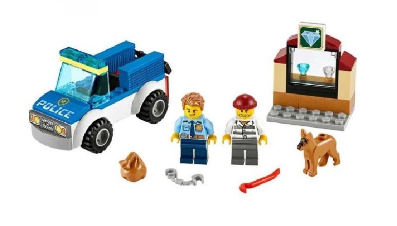 Lego City Полицейский отряд с собакой