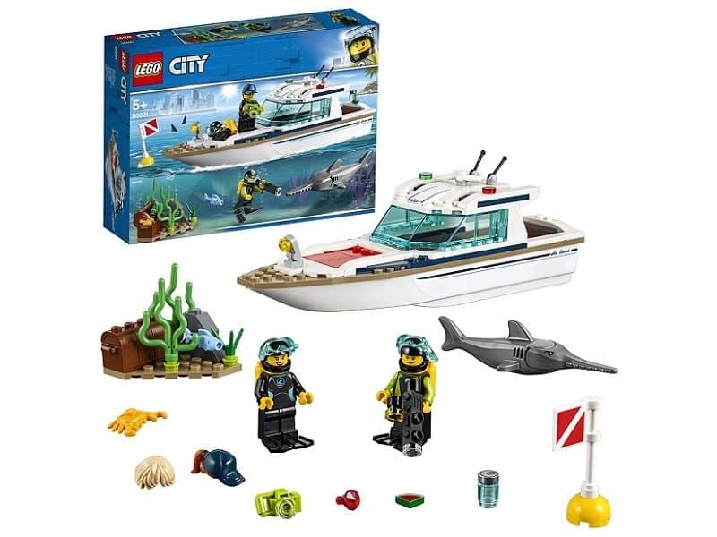 Lego City, Транспорт Яхта для дайвинга