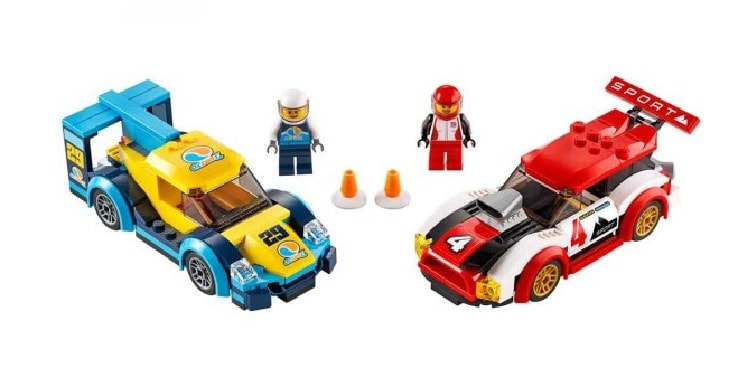 Lego City Turbo Wheels Гоночные автомобили