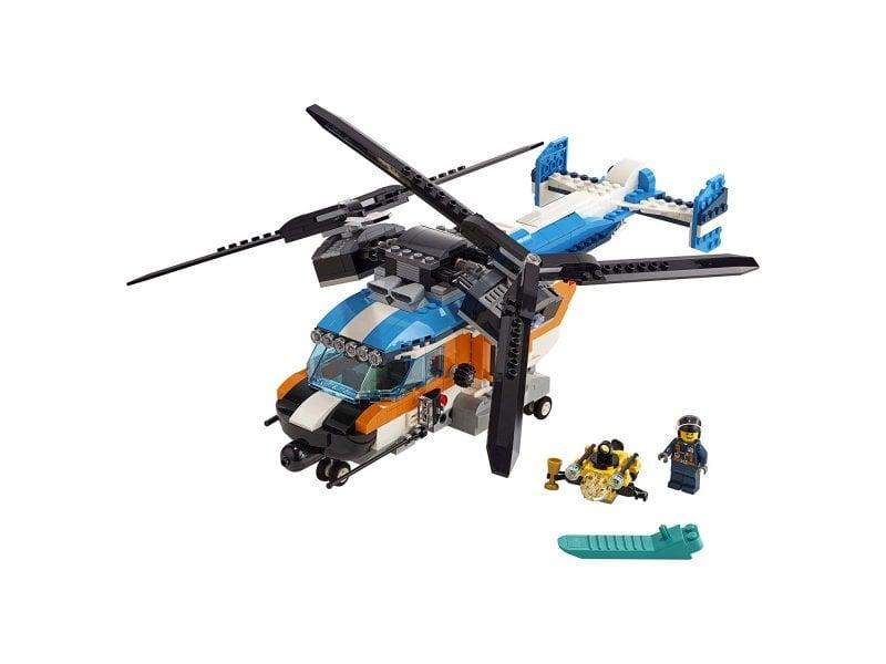 Lego Creator Двухроторный вертолёт