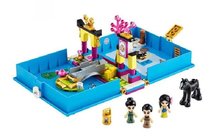 Lego Disney Princess, Книга сказочных приключений Мулан