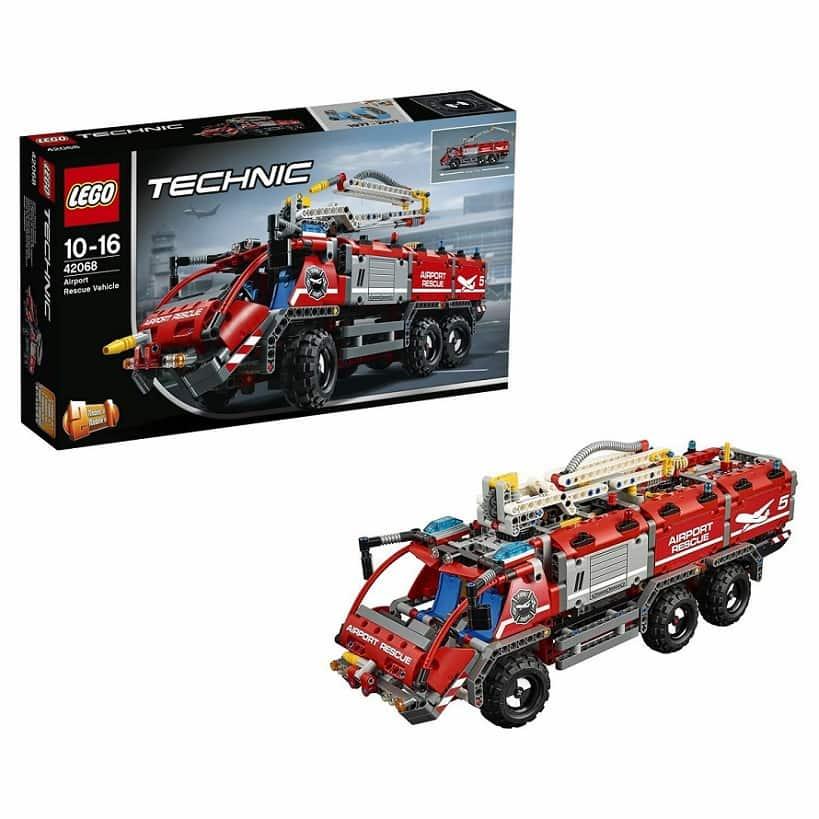 Автомобиль спасательной службы LEGO Technic 42068