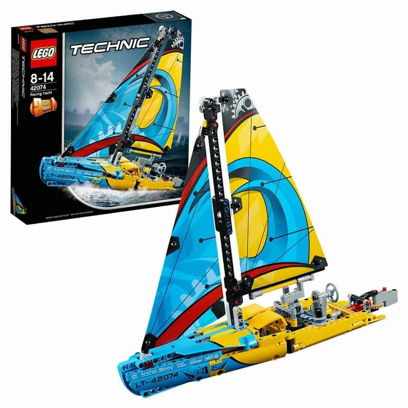 Гоночная яхта LEGO Technic 42074