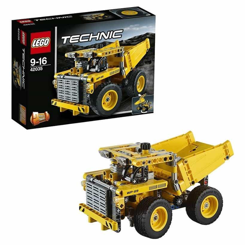 Карьерный грузовик LEGO Technic 42035