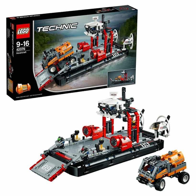 Корабль на воздушной подушке LEGO Technic 42076