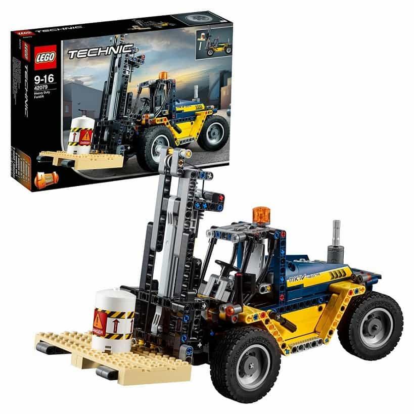 Сверхмощный вилочный погрузчик LEGO Technic 42079