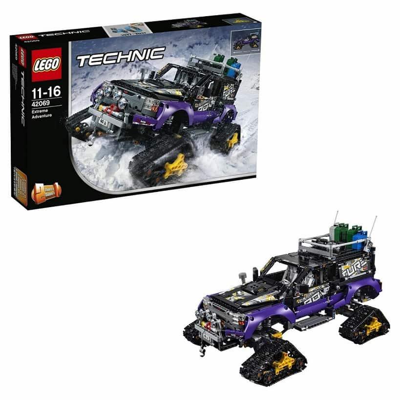 Экстремальные приключения LEGO Technic 42069