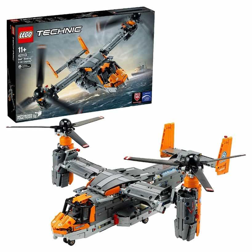 Bell Боинг V-22 Osprey LEGO Technic 42113