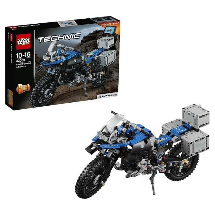 LEGO Technic Приключения на BMW R 1200 GS
