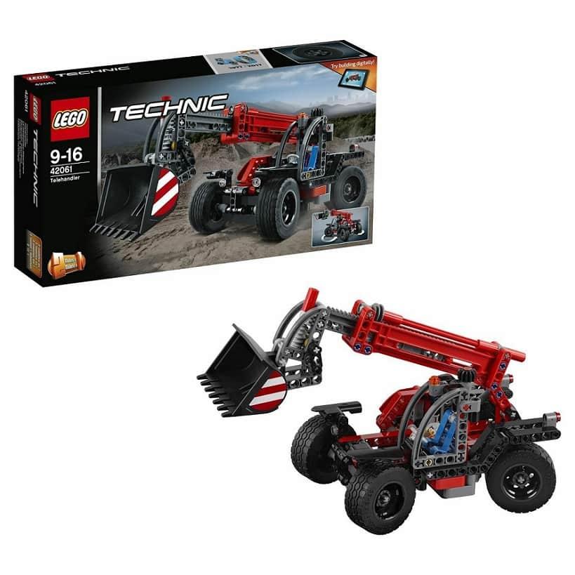 LEGO Technic Телескопический погрузчик