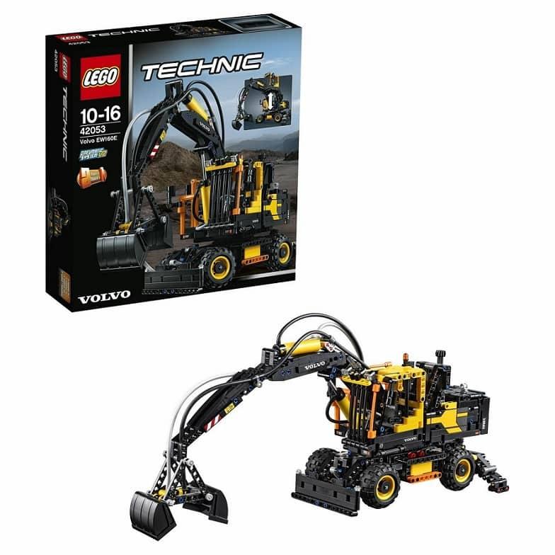 LEGO Technic Экскаватор Volvo EW 160E